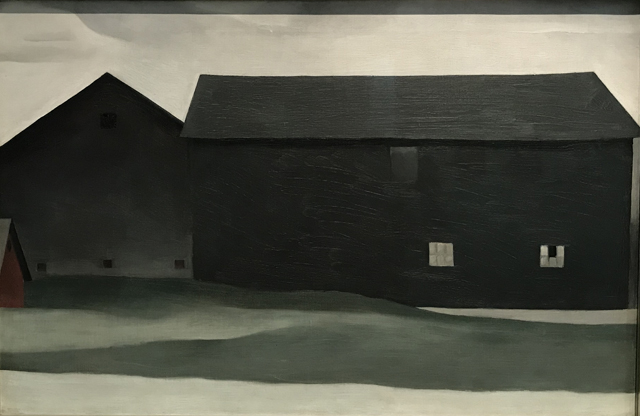 The Barns, Lake George, 1926 Georgia O'Keeffe